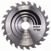 Диск пильный Bosch Optiline Wood,ф184х30х1,6мм,24зуб (2.608.640.610)